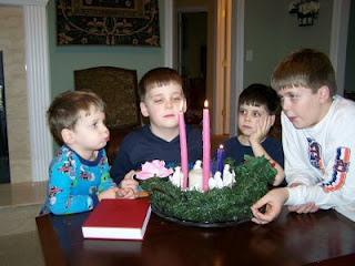 Using an Advent Wreath