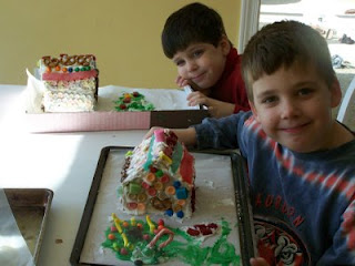 Gingerbread Houses part 1: Construction