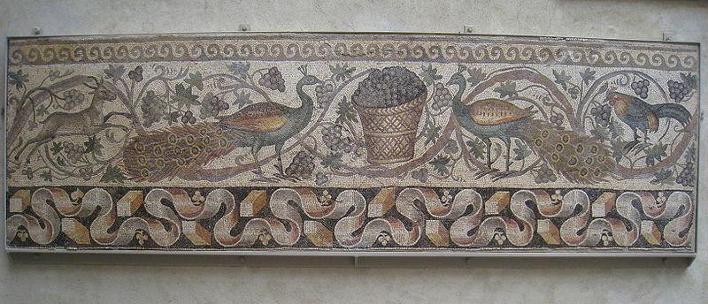 Roman Mosaic Stepping Stones