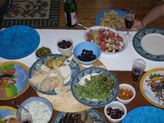 Recipes for the Greek Feast