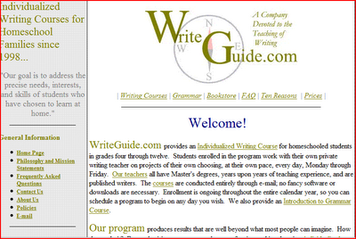 Write Guide writing course